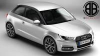 Audi A1 2015 3D Model