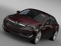 Opel Insignia Hatchback ECOFlex 2015 3D Model