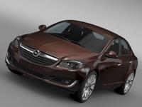 Opel Insignia Turbo 2015 3D Model