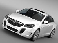 Vauxhall Insignia VRX 2015 3D Model