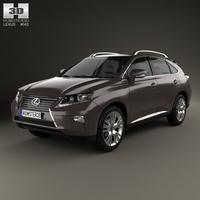Lexus RX 2012 3D Model