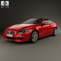BMW M6 (F13) Coupe 2012 3D Model