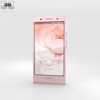 Huawei Ascend P6 Pink 3D Model