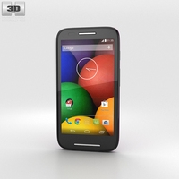 Motorola Moto E Violet & Black 3D Model