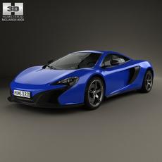 McLaren 650S coupe 2014 3D Model