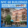 NYC - 8 Blocks - 68 Buildings 3D Model