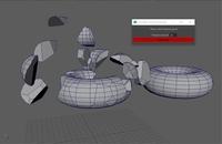 Free nSoupFrac Voronoi Fracture for Maya 1.0.0 (maya script)
