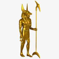 Anubis 3D Model