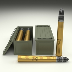 Soviet 85mm Shell 3D Model