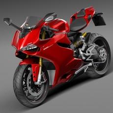 Ducati 1299 Panigale S 2016 3D Model