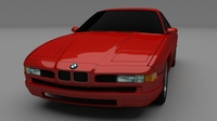 BMW 8 Series 3D Model