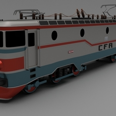 Class 42 Electric Locomotive 3D Model