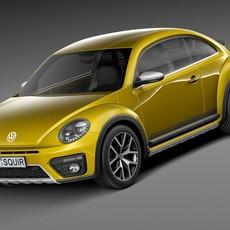 Volkswagen Beetle Dune 2016 3D Model