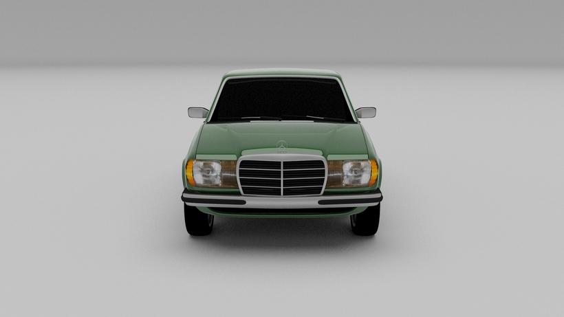 Mercedes-Benz W123 3D Model