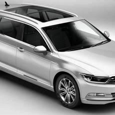 Volkswagen Passat Variant 2015 3D Model