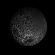 23K Realistic Moon 3D Model