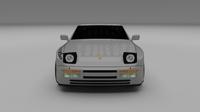 Porsche 944 Turbo S 3D Model