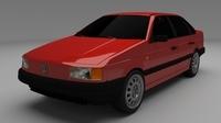 Volkswagen Passat B3 3D Model