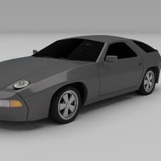 Porsche 928 3D Model