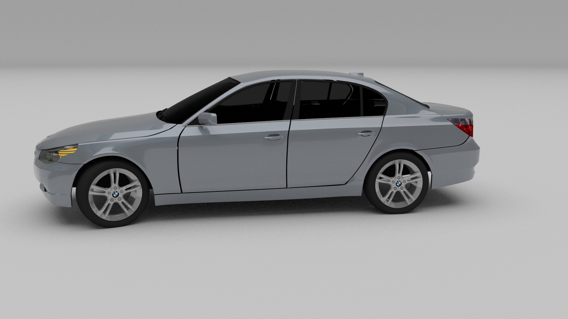 bmw e60 5 series 3d model. Black Bedroom Furniture Sets. Home Design Ideas