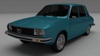 Renault 12 / Dacia 1300 3D Model
