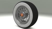 Cadillac Wheel 3D Model