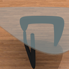 Modern Coffee Table 3D Model