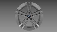 BMW rim 3D Model