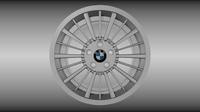 BMW rim 2 3D Model