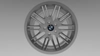 BMW rim 4 3D Model