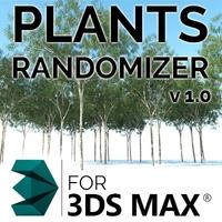 Plant Randomizer v1.0 for 3dsmax 1.0.0 (3dsmax script)