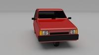 Reliant Robin 3D Model