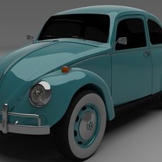 VW Beetle 3D Model