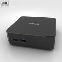 Asus Chromebox 3D Model