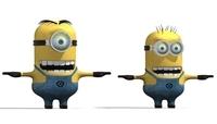 Minions 3D Model