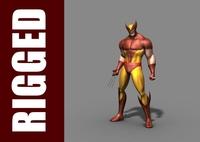 Wolverine (Rig) 1.0.1 for Maya