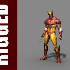 Wolverine (Rig) for Maya 1.0.1