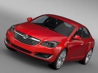 Vauxhall Insignia 2015 3D Model