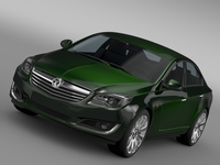 Vauxhall Insignia ECOFlex 2015 3D Model