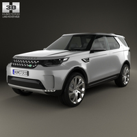 Land Rover Discovery Vision 2014 3D Model