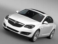 Vauxhall Insignia Hatchback ECOFlex 2015 3D Model