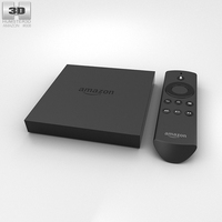 Amazon Fire TV 3D Model