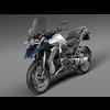 BMW R1200 GS 2015 3D Model