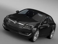 Vauxhall Insignia Turbo 2015 3D Model