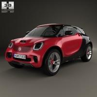 Smart Forstars 2012 3D Model
