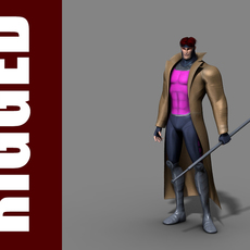 Gambit (Rig) 1.0.3 for Maya