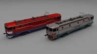 Locomotive collection 3D Model