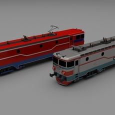 Locomotive collection 3D Model