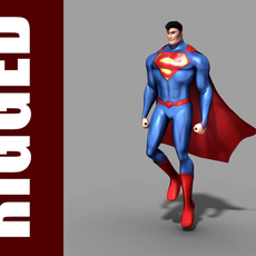 Superman (Rig) 1.0.1 for Maya