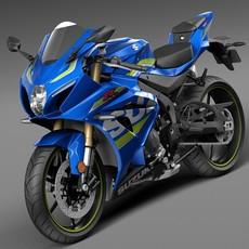 Suzuki GSX-R1000 2016 3D Model